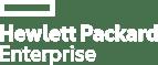 Hewlett Packard Enterprise white logo